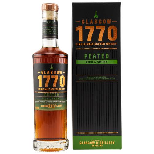 1770 Glasgow Single Malt Scotch Whisky - Peated - Rich & Smoky