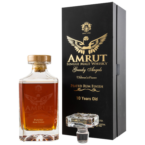 Amrut 10 y.o. Greedy Angels - Rum Finish (2019)