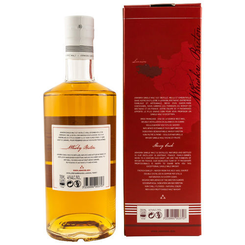 Armorik Sherry Cask - Single Malt - neue Ausstattung