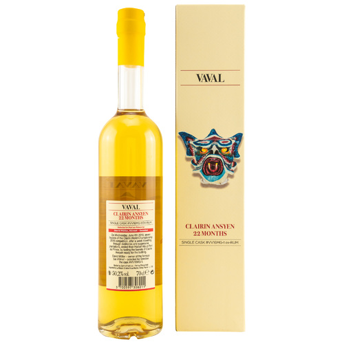 CLAIRIN Vaval 2017/2019 - 22 Months - Single Cask