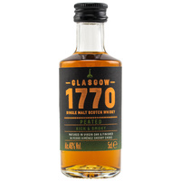1770 Glasgow Single Malt Scotch Whisky - Peated - Mini
