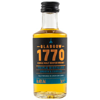 1770 Glasgow Single Malt Scotch Whisky - Triple Distilled - Mini