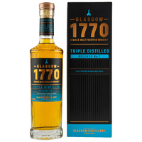 1770 Glasgow Single Malt Scotch Whisky - Triple Distilled - Release No. 1