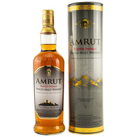 Amrut Peated 46% - Indian Single Malt - neue Ausstattung