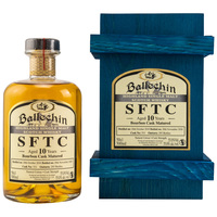 Ballechin 2010/2020 - Straight from the Cask - Bourbon Cask Nr. 331 - UVP: 84,90€