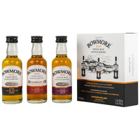 Bowmore Collection 3 x 0,05