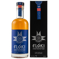 Floki Single Malt Whisky Double Wood - Mead Cask Batch 1 - UVP: 69,90€