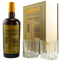 HAMPDEN 8 y.o. - Pure Single Jamaican Rum 46% GLAS GP