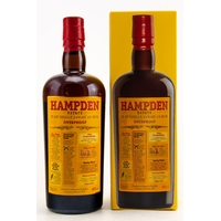 HAMPDEN Overproof - Pure Single Jamaican Rum 60%