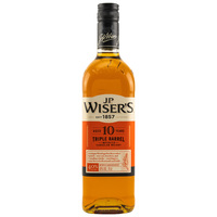 J.P.Wiser's Triple Barrel 10 y.o. Canadian Whisky